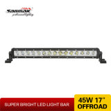 '' einzelner Reihe 18 CREE 45W sondern LED-hellen Stab für nicht für den Straßenverkehr aus