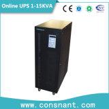 Niederfrequenzonline-UPS mit 192VDC einphasigem 6-15kVA