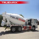 A atualização do Caminhão de Concreto Truemax batedeira e partes superiores