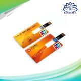 Cartão de crédito personalizado unidade flash USB para Dom
