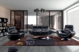Самомоднейшая софа Sbl-9009 кожи верхней части мебели