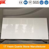 de 20mm Opgepoetste Witte Plak van de Steen van het Kwarts voor Countertop van de Keuken