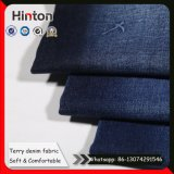 Ткань джинсовой ткани Терри ткань Jean мягкого касания 8.2 Oz для женщин