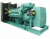 Conjunto de generador diesel de la central eléctrica 1250kVA 1000kw