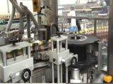 Línea de relleno máquina de la bebida de etiquetado caliente de Fed OPP del rodillo del pegamento del derretimiento