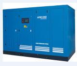 정지되는 회전하는 나사에 의하여 기름을 바르는 전기 공기 압축기 (KF185-13)