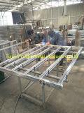 Equipamentos de pecuária de fazenda Painel de madeira de aço inoxidável