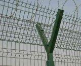 358 omheining 358 de Omheining van het Prikkeldraad van /Prison van de Luchthaven van de Omheining van de Veiligheid