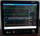 Vendita calda video paziente delle attrezzature mediche dello schermo di tocco di 15 pollici