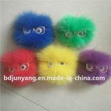 Pelliccia di Fox di Pirce della fabbrica Keychain per i sacchetti