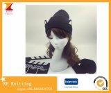 Оптовые шлемы уха котов связали шлемы шерстей сделанные в Китае