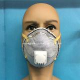 Máscara disponible del respirador de la seguridad de los PP con el carbón y la válvula activos