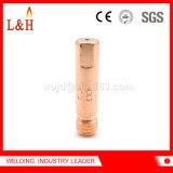 M6 * 25 E-Cu MIG Torch Joint de contact de soudage avec ISO9001 approuvé