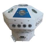 Lumière de clignotement tournante d'usager de configuration de forme d'hexagone avec l'effet de laser (YE192)