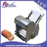 Trancheuse de machine de traitement au four pour le pain grillé de pain de pain