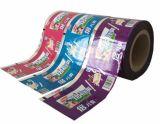 Películas impresas coloridas de la bolsa del material de empaquetado para el bocado