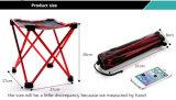 Alluminumの合金屋外のための折る釣椅子(赤い)