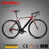 Bicicletta Aero di corsa di strada della forcella del carbonio 22speed di disegno 105groupset 5800