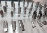 コイル巻き機械またはコイル巻線のノズルのための炭化タングステンのノズル