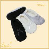 Warme weiche faltbare Ballett-Tanz-Schuhe für Dame-Mädchen