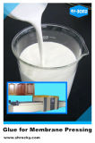 L'unité centrale pulvérisable de l'eau a basé la colle pour appuyer de membrane de vide de panneau de cuisine