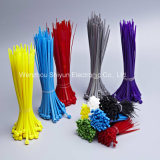 8 '' serres-câble en nylon noirs normaux de 40lbs /UV