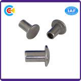 Acciaio al carbonio/ribattini Semi-Rotondi della testa dell'acciaio inossidabile GB/DIN/JIS/ANSI