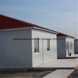 La estructura de acero prefabricada vertió para el almacén/el almacenaje