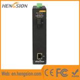 1 Ethernet y 1 interruptor de red industrial del acceso del gigabit de la fibra