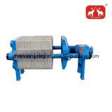 El hierro de fundición de mejor venta de crudo de la máquina del filtro de aceite hidráulico