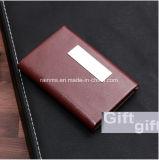 Настраиваемый логотип корпоративного управления Подарочные деловые поездки из натуральной кожи держателя карты для ноутбука цепочки ключей подарочный набор перьев