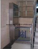 Гидравлический подъемник для инвалидных колясок для установки внутри помещений отключен