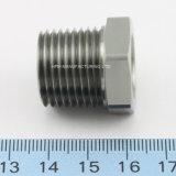 Kundenspezifische CNC-maschinell bearbeitende passende Edelstahl-Hexagon-Schrauben-Schrauben-Mutter