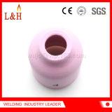 boquilla de la lente del gas del alúmina 53n58 para el soplete de TIG