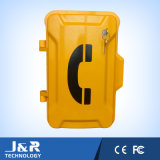 Telefone Emergency sem fio, telefone do atendimento da estrada, telefone do terreno, telefone da ajuda da borda da estrada