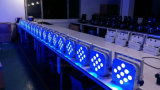Wasserdichtes drahtloses &Battery &DMX SteuerKibetic Beleuchtung 9PCS 10W 4in1 LED NENNWERT Licht