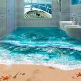 3D-Пол Crystal Clear эпоксидным покрытием пола