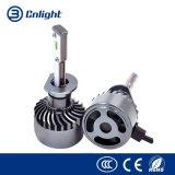 H8 H9 H11 60W 6000lm 6000K impermeabilizzano il bianco freddo del LED del faro del fascio dell'indicatore luminoso dell'automobile LED dei fari della lampadina della lampada massima minima automobilistica della nebbia