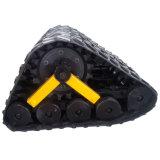 Sistema de trilha HS280 de borracha/veículos de borracha dos jogos da trilha/engenharia