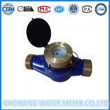 Contador de agua 2''inch pulso Cuerpo de latón