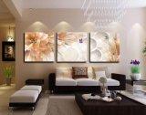 Цветки картины стены горячего надувательства 3 частей самомоднейшие крася домашнее декоративное изображение после того как искусствоа стены я покрашены на доме холстины печатают Mc-197