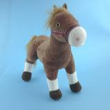 Giocattolo del cavallo farcito cavallo del Brown del giocattolo della peluche