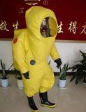 무거운 유형 화학 방어적인 저항하는 한 벌
