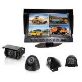 Digital 9 Zoll verschüttete des Vierradantriebwagen-TFT LCD Auto-hintere Ansicht-Farben-Bildschirm-Monitor-