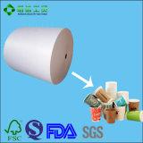 Nahrungsmittelgrad PET überzogenes Papier für Wegwerfgetränkecup
