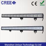 20inch impermeabili 126W si raddoppiano barra chiara del CREE 3W LED di riga