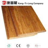 Pavimento di legno di bambù tessuto filo della serratura di scatto