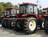 Tracteur de roue de marque du monde avec l'a/c