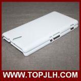 Steen en het Glanzende Geval van de Telefoon van de Sublimatie van Printe van de Douane voor Sony Xperia C5
