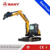 Sany Sy215 21.5 T 중간 크롤러 유압 굴착기